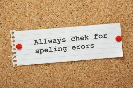 check for spelling errors image